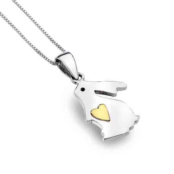 Silver origins love bunny pendant rabbit welfare shop silver origins love bunny pendant aloadofball Choice Image