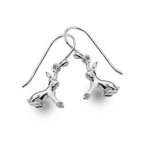 Sterling silver rabbits