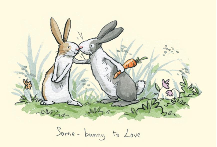 Прикольные открытки заяц